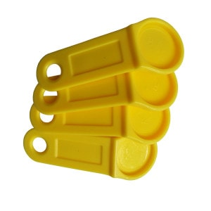 Key Fobs For Dallas iButton – DS9093AY+ Yellow [RoHS Compliant]