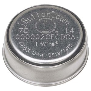 64-bit ID Number On Top Of an iButton Key