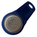 DS1991L-F5 iButton with Blue Handle