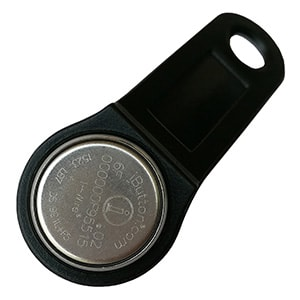 DS1991L-F5 MultiKey iButton with Black Fob Assembled