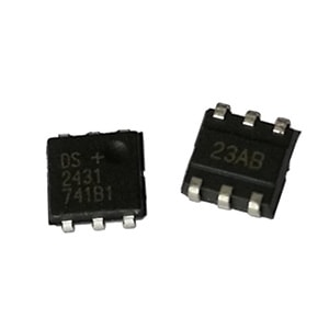 DS2431P+ 1024-Bit 1-Wire EEPROM