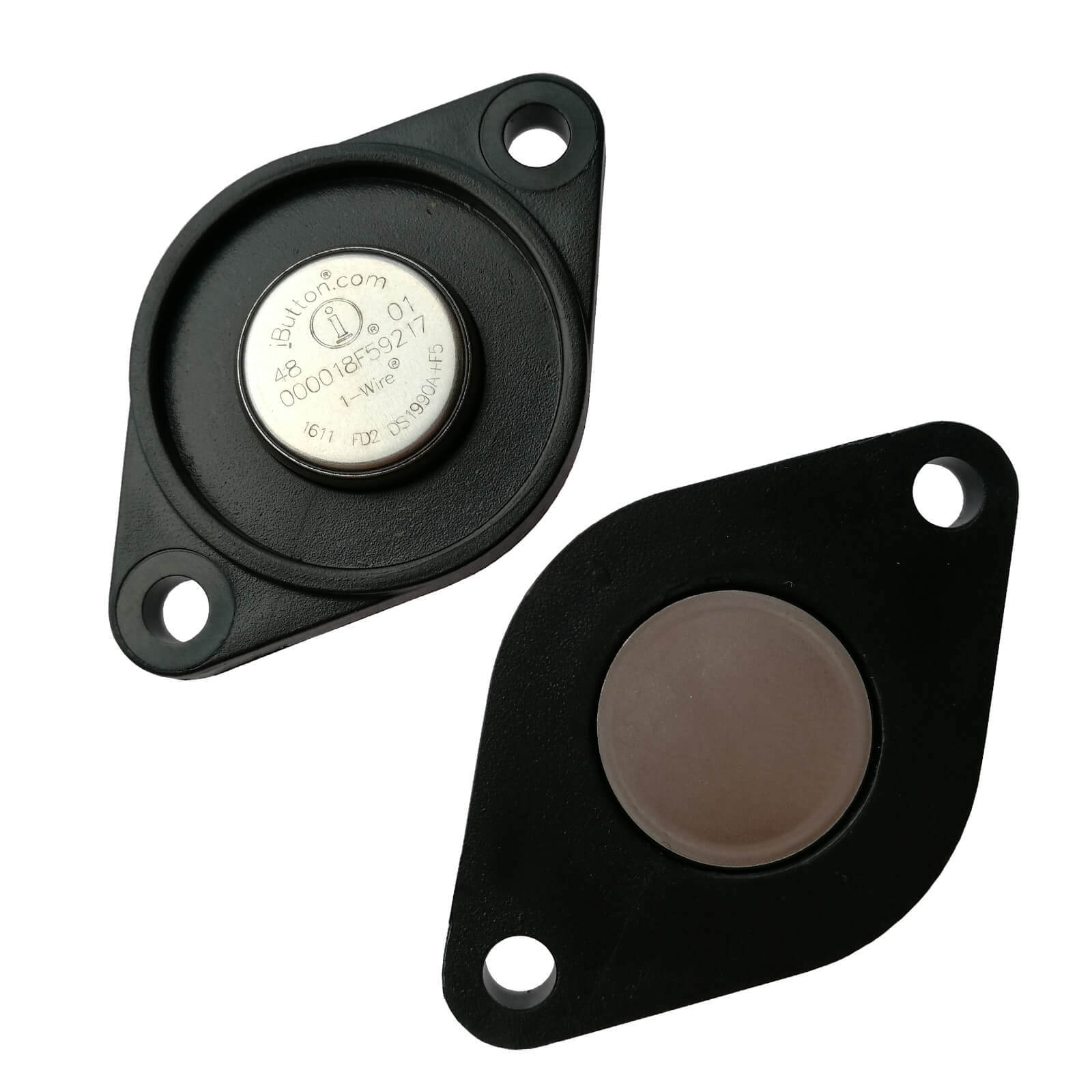 Guard Patrol Monitoring Wall Mount Plate for F5 iButton – Compatible w/ DS9093S