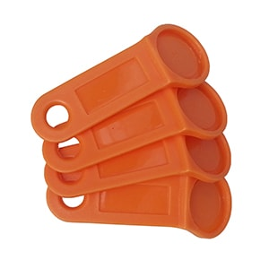 iButton Key Holder for DS1990A-F5/TM1990A – Orange [RoHS Compliant]