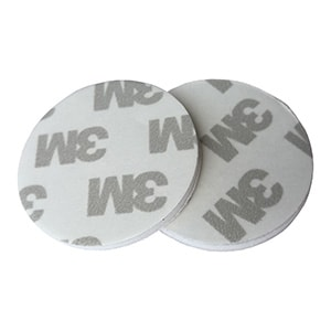 iButton Adhesive Pads – Compatible w/ DS9096P [White]