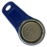 Magnetic 1-Wire iButton with Blue Plastic Holder