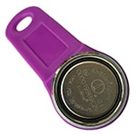 Magnetic Dallas Key with Purple Fob