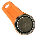Magnetic i-Button Key with Orange Fob