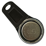 Magnetic iButton Key with Black Fob