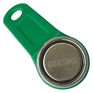 Magnetic RW1990 iButton with Steel Ring