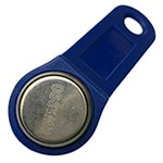 RW1990 Copy iButton for DS1990A with Blue Keyfob