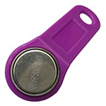 RW1990 i-Button Key with Purple Fob